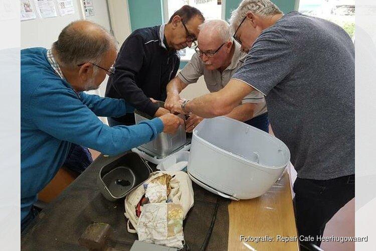 Bij het Repair Cafe Heerhugowaard draait het om repareren