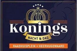 Koningsnacht en Koningsdag vier je op het Raadhuisplein in Heerhugowaard Centrum in de grote feesttent