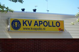 Hardwerkend KV Apollo onderuit