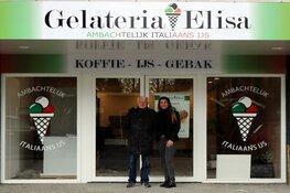 Gelateria Elisa opent vrijdag haar deuren aan de Middenweg