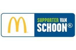 McDonald's Schagen gaat samen met OBS Julianaschool de strijd aan tegen zwerfafval
