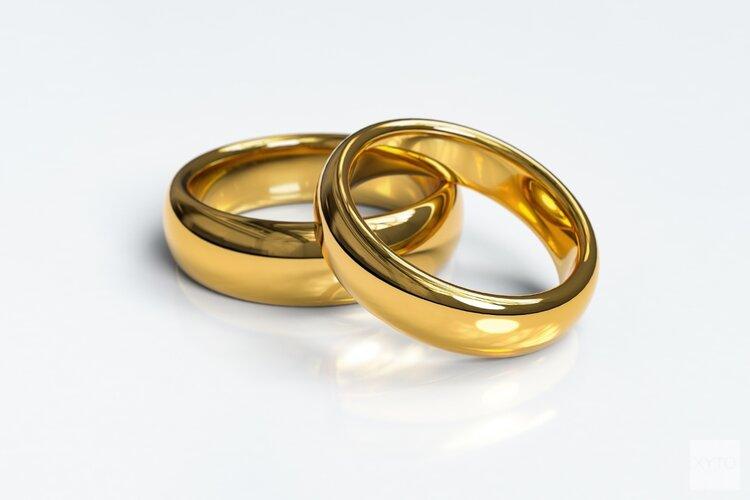 Zestig jarig huwelijk echtpaar Van der Struijs-Grootemaat