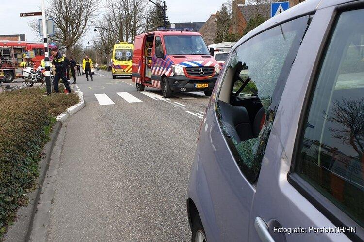 Fietser overleden bij ongeval Middenweg