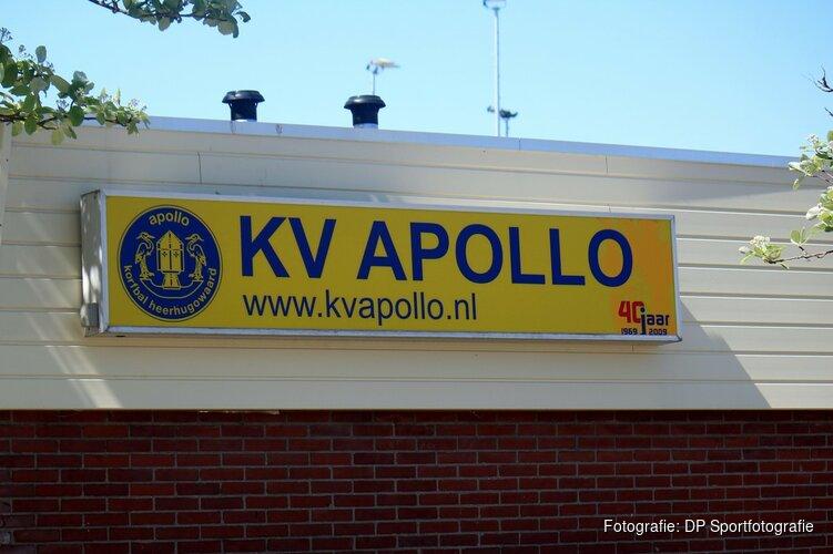 KV Apollo kan zich richten op tweede deel veldseizoen