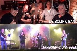 Zaterdag twee topbands in Marlene: Janssen & Janssen + De Bolink Band