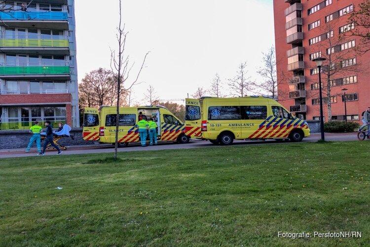 Twee personen gewond bij ongeval L'exitpad