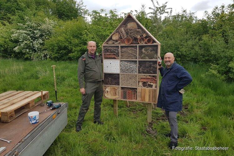 Leerlingen ontwerpen en bouwen hotels voor Waarderhout