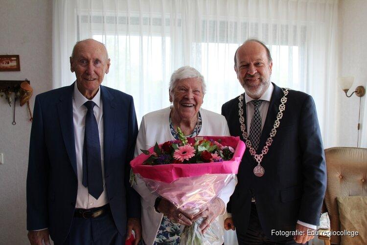 70-jarig  huwelijks jubileum in Heerhugowaard