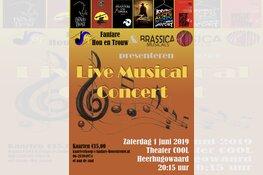 Live Musicals in Concert door Fanfare Hou en Trouw en Brassica