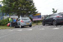 Veel schade bij ongeval W.M. Dudokweg
