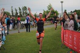 Tristan Olij en Maaike Vooren winnaars Stad van de Zon Triathlon