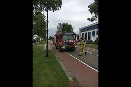 Brand bij Espeq in Heerhugowaard