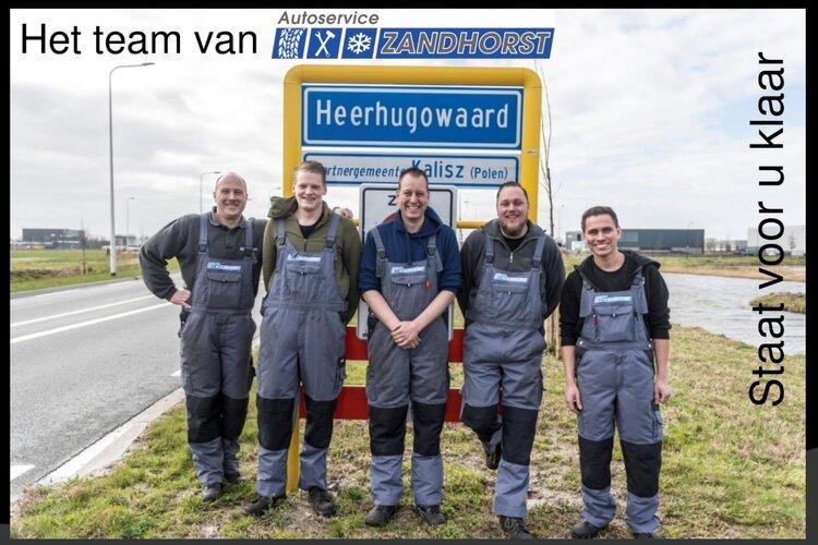 Het team van Autoservice Zandhorst dagelijks voor u klaar