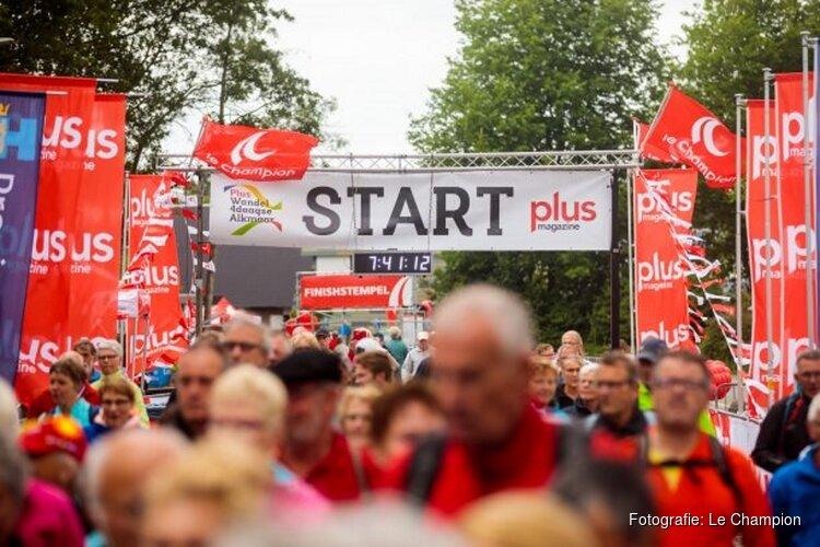 Bijna alles uit de kast voor de Plus Wandel4daagse Alkmaar: hitte, onweer en regen voorspeld