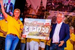 Zon, zonnebloemen en 6.000 wandelaars laten 13e editie Plus Wandel4daagse Alkmaar stralen