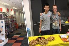 2e POP UP winkel in Nederland door leerlingen Huygens College