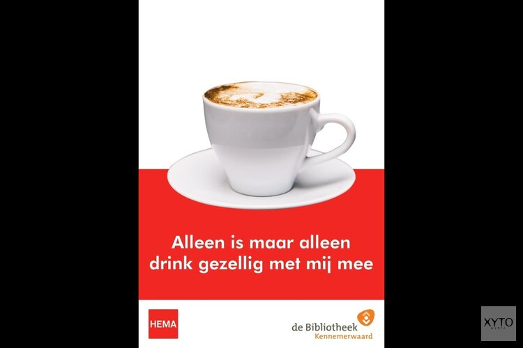 Alleen op de koffie bij de HEMA?