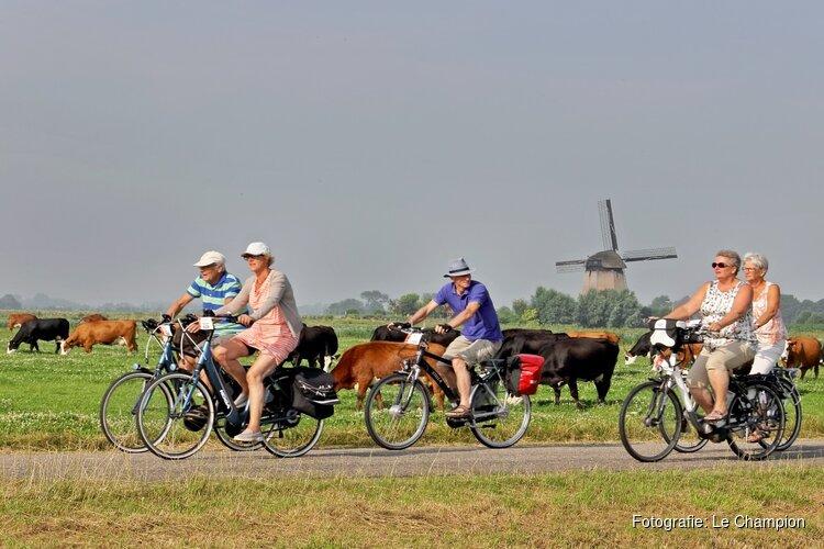 Fietsend genieten tijdens de Fiets4Daagse Alkmaar