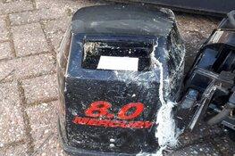 Drie verdachten aangehouden met gestolen buitenboordmotor