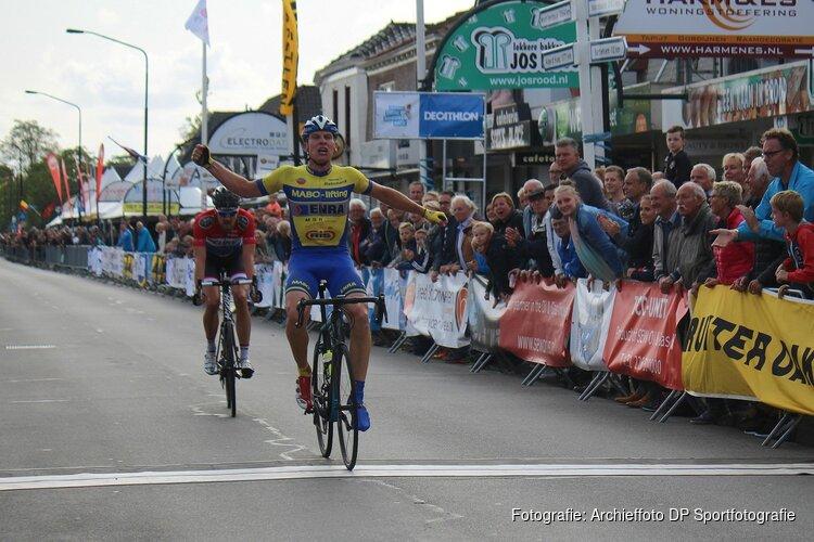 Roel van Kordelaar geniet ook als toeschouwer volop van Tour de Waard