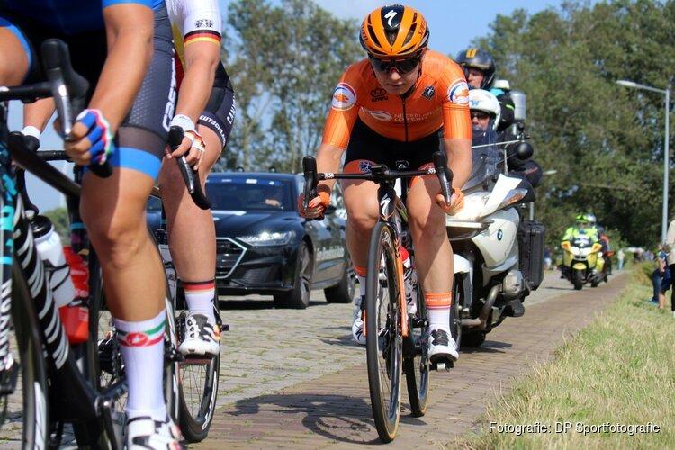 Amy Pieters imponerend naar Europese titel