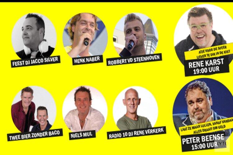 Het feest der feesten komt er aan: Peter Beense, Rene Karst en nog veel meer tijdens Tour de Waard in Marlene