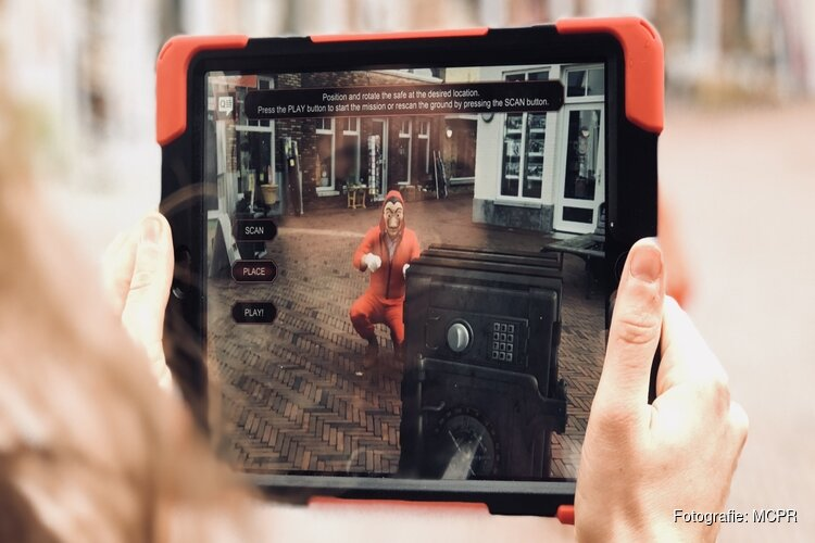 AR City Game lanceert La Casa de Papel Augmented Reality citygame