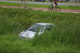 Auto te water in Heerhugowaard