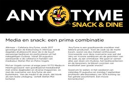 Media en snack: een prima combinatie