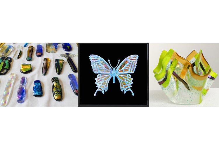 Anne Hoogland – Glasfusion – Heerhugowaardse Kunstmarkt