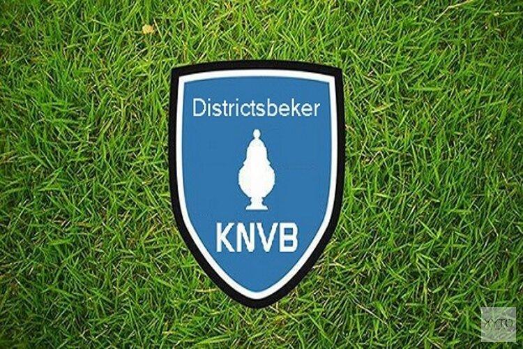 Uitslagen KNVB-Districtsbeker