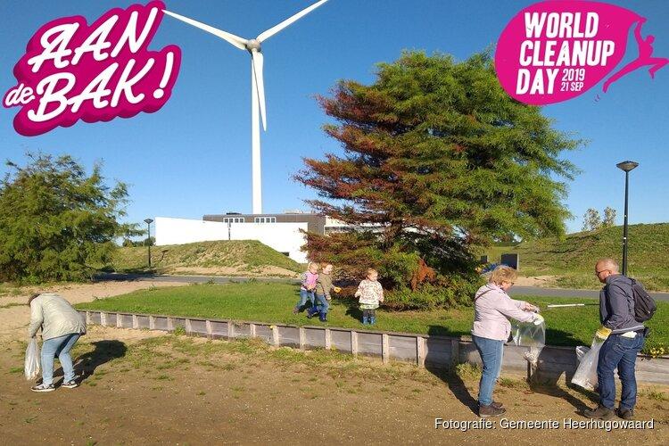 Heerhugowaarders in actie tijdens World Cleanup Day