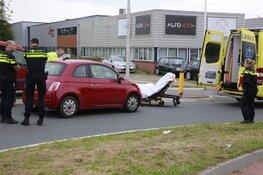 Vrouw gewond bij ongeval Marconistraat