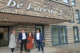 Appartementen De Foresto opgeleverd aan nieuwe bewoners