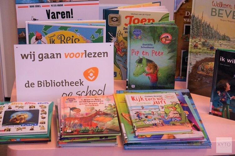 Feestelijke Opening de Bibliotheek op school Basisschool De Helix