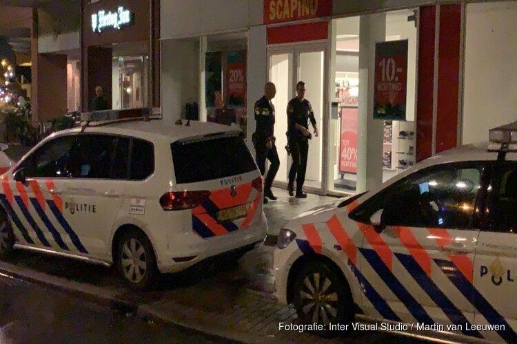 Geld buitgemaakt bij overval op schoenenwinkel Heerhugowaard: politie zoekt drie mannen
