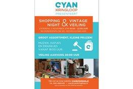 2 November CYAN 'Shopping Night & Vintage Veiling'