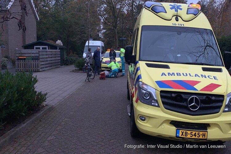 Vrouw gewond na val met elektrische fiets