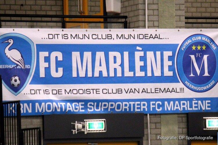 FC Marlène weet net niet te vinden en verliest nipt
