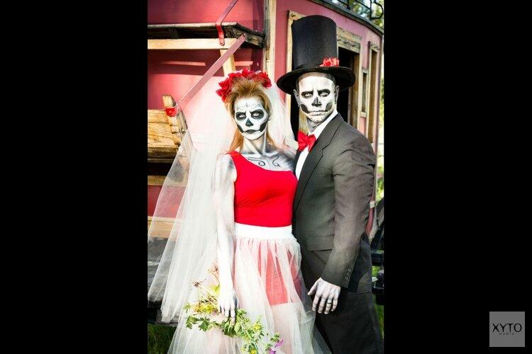 Halloween in Kompleks met prijzen en dj's