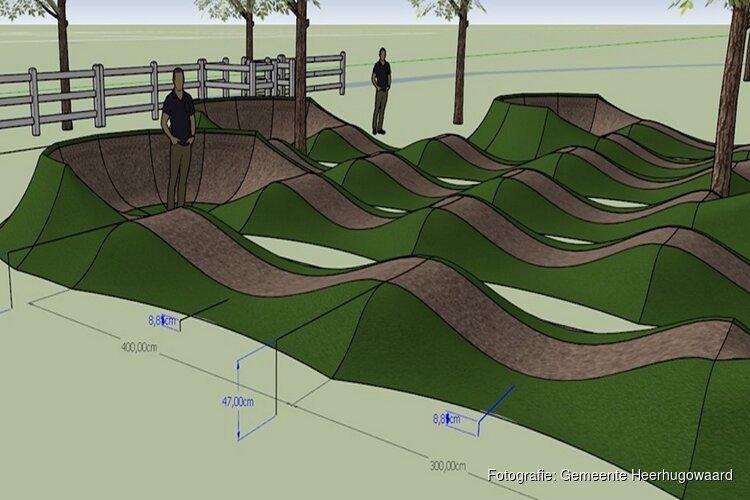 Plannen voor fietscrossbaantje Waarderhout