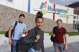 Veel belangstelling voor Huygens College