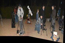 Cursus waarnemen bij sterrenwacht Saturnus