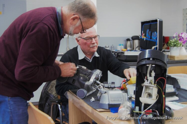 Repair Café Heerhugowaard 19 en 25 november