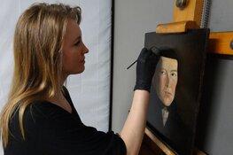 Lezing over restauratie van schilderijen van het hoogheemraadschap