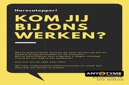 Handjes gezocht (bezorgers/medewerkers) voor Snackbar AnyTyme Oudorp