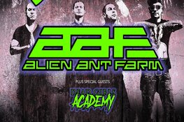 Dubbelconcert: P.O.D. én Alien Ant Farm (USA) in Victorie