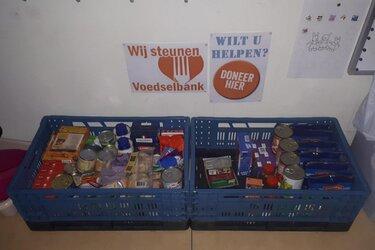 Inzameling van houdbare voedingsmiddelen voor voedselbank Alkmaar e.o.