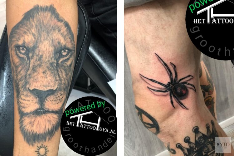 Top tattooartiest Topan in het Tattoohuys