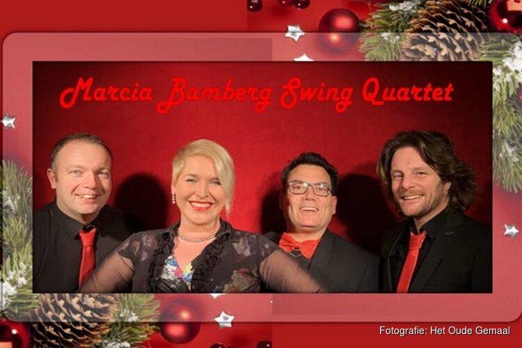 Marcia Bamberg Swing Quartet brengt gypsy en jazz in kerstsfeer in Het Oude Gemaal